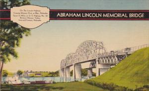 Abraham Lincoln Memorial Bridge Between Missouri Valley Iowa and Fremont Nebr...