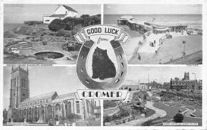 Cromer, Rock Garden West Cliff, Parish Church Rocket House The Pier 1959