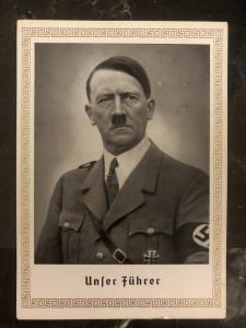 1939 Berlin Germany RPPC Postcard cover to Nowogard our Fuhrer