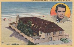 SANTA MONICA, California, 1930-40s; Beach Home of Cary Grant