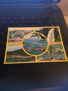 Vintage Postcard: Norge, Norway Multi View