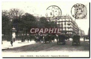 COPY Paris Rue Lafayette Square Montholon