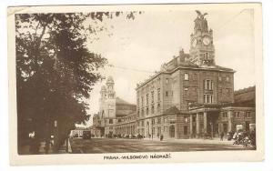 RP: Praha.-Wilsonovo Nadrazi , Czech Republic , PU-1925