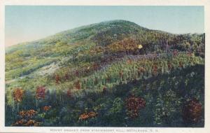 Mount Aggasiz from Strawberry Hill Bethlehem White Mountains New Hampshire - WB
