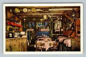 Chicago IL, Cape Cod Room, The Drake, Chrome Illinois c1957 Postcard