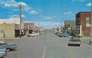 Main Street , TABOR , Alberta , Canada , 40-60s
