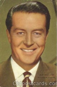 Ray Milland Actor, Actress, Movie Star Unused two small creases top edge