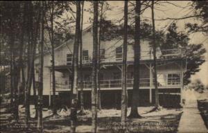 Oquaga Lake NY Scott's Casino c1910 Postcard