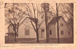 Plaistow New Hampshire Congregational Church and Pollard School PC JD933689