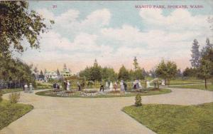 Washington Spokane Maniton Park 1909