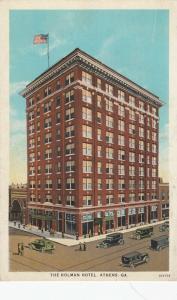 ATHENS, Georgia, 00-10s; The Holman Hotel