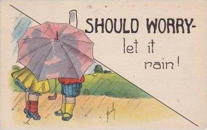 Fred Cavally  I Should Worry Series  Let It Rain 1913