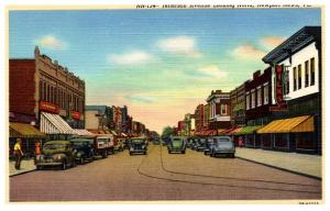 Virginia  Newport News , Jefferson Avenue looking North