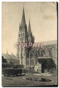 Old Postcard Bayeux Cathedral View Jack L & # 39Eveche