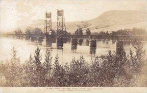 RP: Bridge , KAMLOOPS , B.C. , Canada , 1910-30s; Postcard Photo Co adv on back