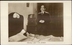 Actor Al Jolson - Davey Lee c1920 Real Photo Postcard