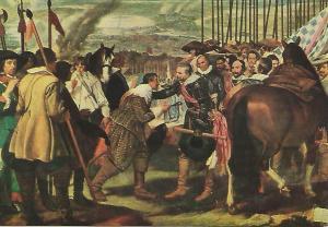 Postal 51329: VELAZQUEZ - La rendicion de Breda