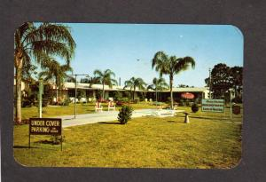 FL Rainbow Lodge Motel St Saint Petersburg Florida Postcard