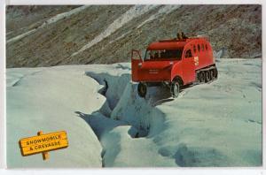 Snowmobiles & Crevasse