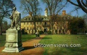 Wren Building William & Mary College - Williamsburg, Virginia