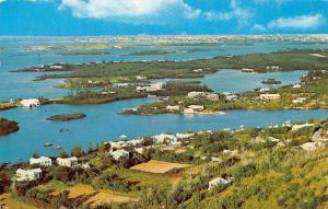 Bermuda View from Gibbs Hill Lighthouse 1964