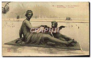 Old Postcard Versailles Parc Du Chateau Parterre D & # 39Eau Loire