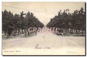 Postcard Old Marseille Prado
