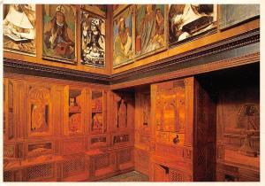 Italy Urbino Palazzo Ducale Studiolo del Duca The Duke's Study