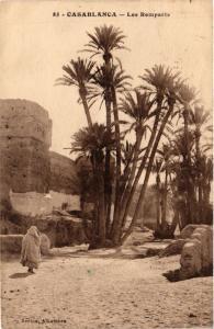CPA Casablanca- Les Remparts MAROC (796090)