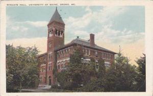 Maine Orono Wingate Hall Univeristy Of Maine