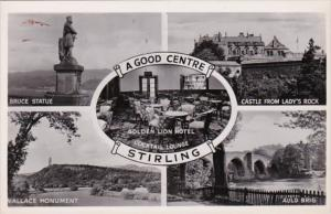Scotland Stirling A Good Centre Multi View Real Photo