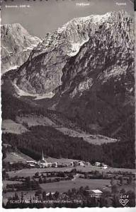 Austria - Scheffau, Tirol  B&W Photo  1957