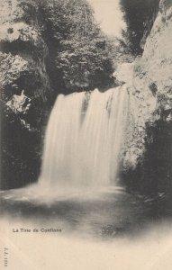 La Tine De Conflans Switzerland Old Postcard