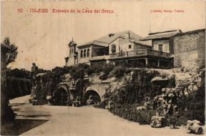 CPA Toledo Entrada de la Casa del Greco SPAIN (743830)