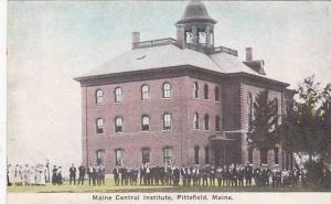 Maine Pittsfield Maine Central Institute 1914