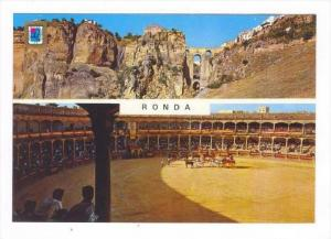 Bull Fight Arena, RONDA, Spain, 1970s