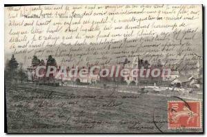 Postcard Old Monville Route De Rouen