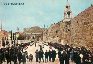 Palestine Bethlehem Church of Nativity Christmas Procession Postcard