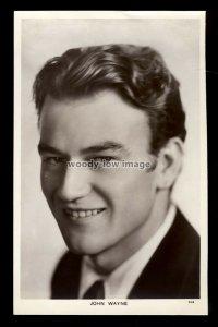 b1608 - Film Actor - John Wayne - Picturegoer No.797 - postcard
