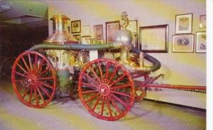 Clapp & Jones Steam Pumper The American Museum Of Fire Fighting Hudson New York