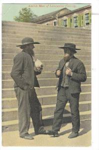 Amish Men of Lancaster County, Pennsylvania, 1900-1910s