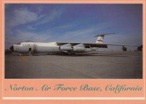 USAF C-141 Transport Airplane , NORTON AFB , California , 70-90s