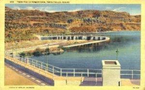 Twin Falls Power Dam - Idaho ID