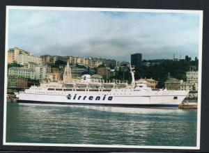 Colour PC MV Verga at Genoa Italy 1992 unused