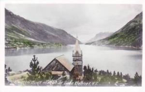 RP: Church built in 1808 , Lake Bennet , Y.T. , Canada , 30-40s