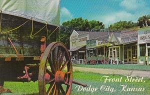 Kansas Dodge City Front Street