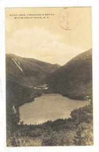 RP,Echo Lake, Franconia Notch, White Mountains, New Hampshire, 30-40s