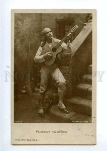 127095 Rudolph VALENTINO Italian MOVIE ACTOR GUITAR old PHOTO
