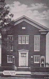 New Jersey Alloway Baptist Church Dexter Press