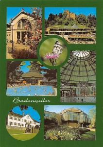 Badenweiler Schwarzwald Markgrafenbad Kurhaus und Burgruine Schloss